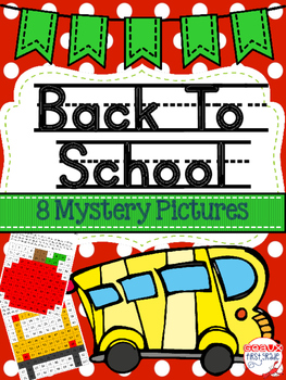 Back To School 100 Chart Mystery Pictures
