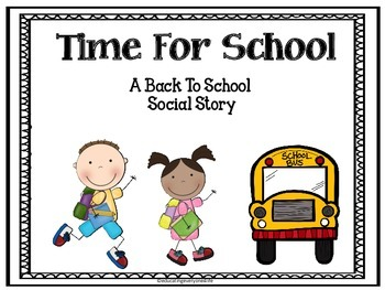Free Back To School Social Story