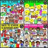 Back To School '19 Clip Art Bundle {Educlips Clipart}