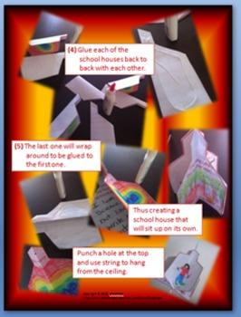 Back To School 3-D Writing Craftivity