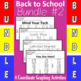 Back To School - 4 Coordinate Graphing Activities - Bundle #2