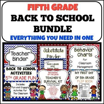 Back To School {5th Grade}