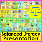 Balanced Literacy for Primary: PowerPoint Presentation - B