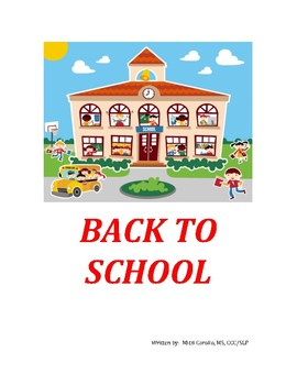 Back To School - A Social Story