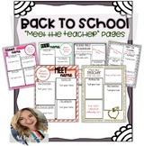 Back To School -- About The Teacher Templates