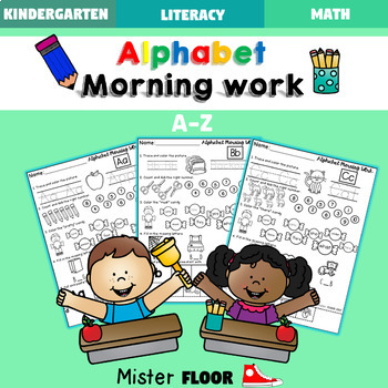 Kindergarten Alphabet Morning Work