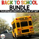 Back To School Activities Bundle: Reading | Writing | Gett