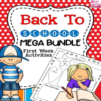 Activities and Assessments for the First Week of School and Back to School