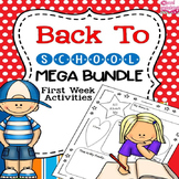 Activities and Assessments for the First Week of School an