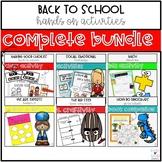 Back To School Activities - The Complete Bundle