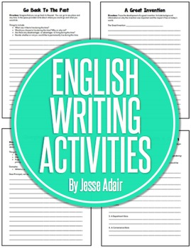 English Writing Activities