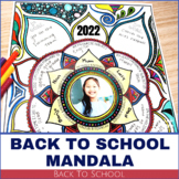 Back To School Activity - All About Me Mandala 2020!