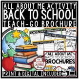 Back to School Activity 3rd Grade, 4th Grade, 5th -All Abo