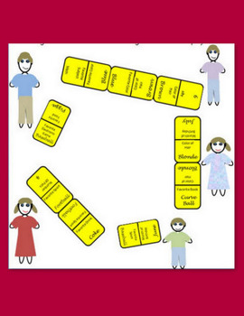 """Back-To-School Activity:  """"Let Me Get To Know You"""" Domino Game"""