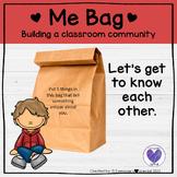 Back To School Activity- Me Bag
