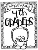 Back To School Activity Packet for Grades 3, 4, or 5
