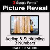 Back To School: Adding & Subtracting 3 Numbers - Google Fo