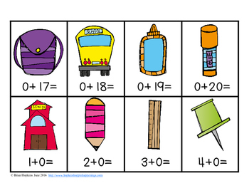 Back To School Addition Strategies