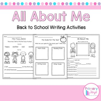 Back To School - All About Me