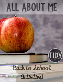 Back To School Activity Pack ( Choice Board, All About Me, First Day Writing)