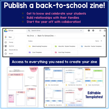 Back To School: All About Me Google Classroom Activity