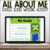 Digital All About Me Google Slides   Back To School Activity