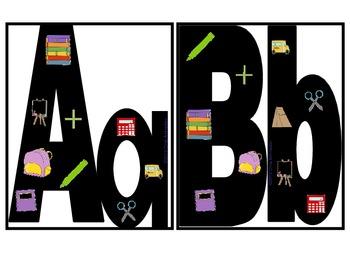 Back To School Alphabet