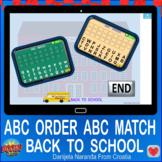 Back To School Alphabetical Order Alphabetical Order ABC O
