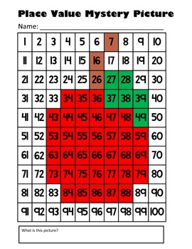 Back To School Apple Subtraction Math Mystery Picture - 8.5x11 - Harvest & Fall