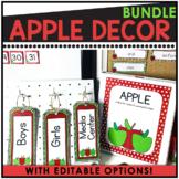 Apple Themed Classroom Decor