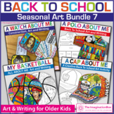 Back To School Art Bundle 7 | All About Me Activities and Decor