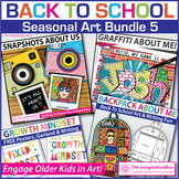 Back To School Art Bundle 5 | All About Me Activities and Decor