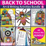 Back To School Art Bundle, Activities, Writing and Decor 6