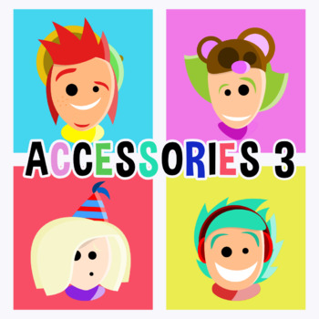 Back To School - Avatars With Accessories 3 Clipart