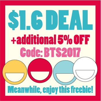 Back To School BIG SALE and free clip art - circle tags clipart