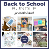 Back To School BUNDLE - ALL 5 of my Back to School Resources!