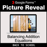 Back To School: Balancing Addition Equations - Google Form