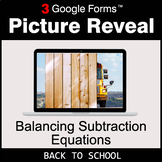Back To School: Balancing Subtraction Equations - Google F