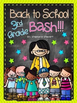 Back To School Bash 3rd Grade {Back to School Unit}