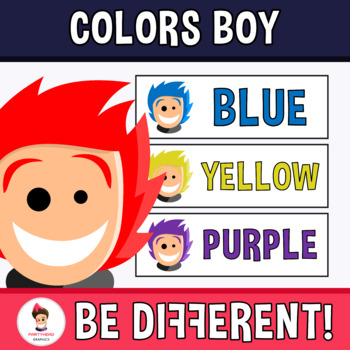 Back To School - Basic Colors With Timmy Clipart