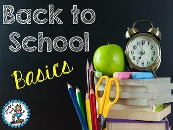 Back To School Basics {20 Literacy Centers}