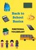 Back To School Basics