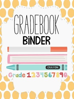 Back-To-School Binder and Folder Covers for Teachers