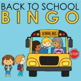 Back To School Bingo Present Tense Verbs | Speech Therapy