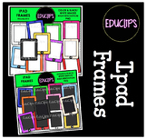 FREE - Ipad Frames Clip Art Bundle {Educlips Clipart}
