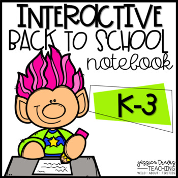 Back To School Booklet {An Interactive Notebook}