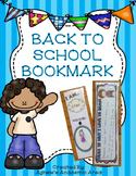Back To School Bookmark
