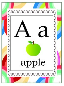 Back To School - Bright -Classroom Theme Pack