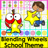 Phonics Activities: Blending Build A Word Wheels
