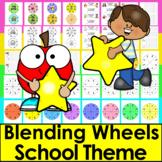 Phonics Activities: Blending Build A Word Wheels